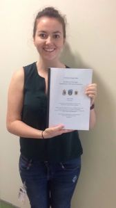 Sarah PhD Submission Pic