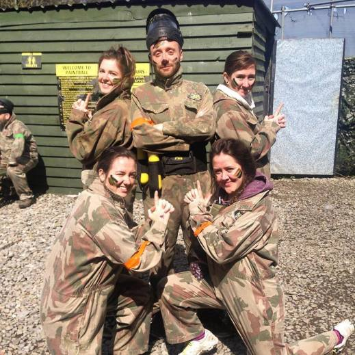 Lab Paintballing